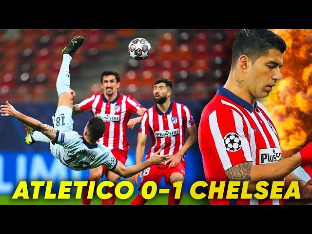 ATLÉTICO MADRID 0-1 CHELSEA | GIROUD SCREAMER GIVES CHELSEA SHOCK WIN! | REACTION