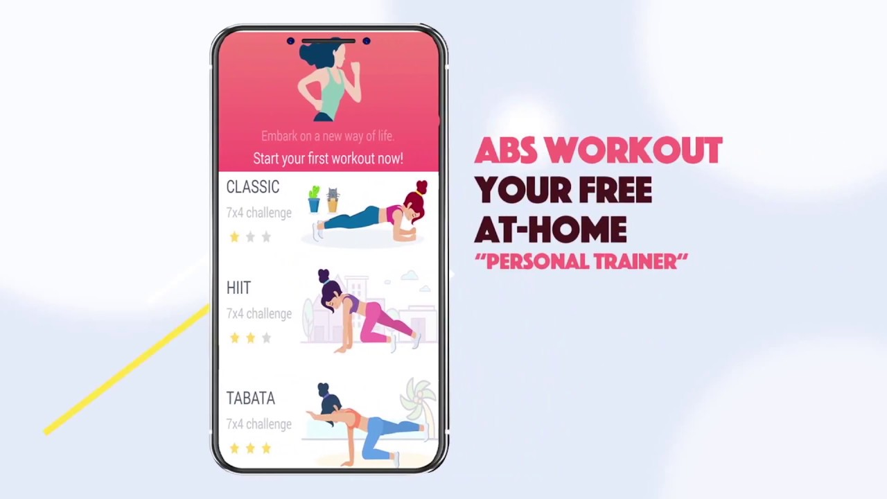 Abs Workout - HIIT, Tabata, Weight Loss App