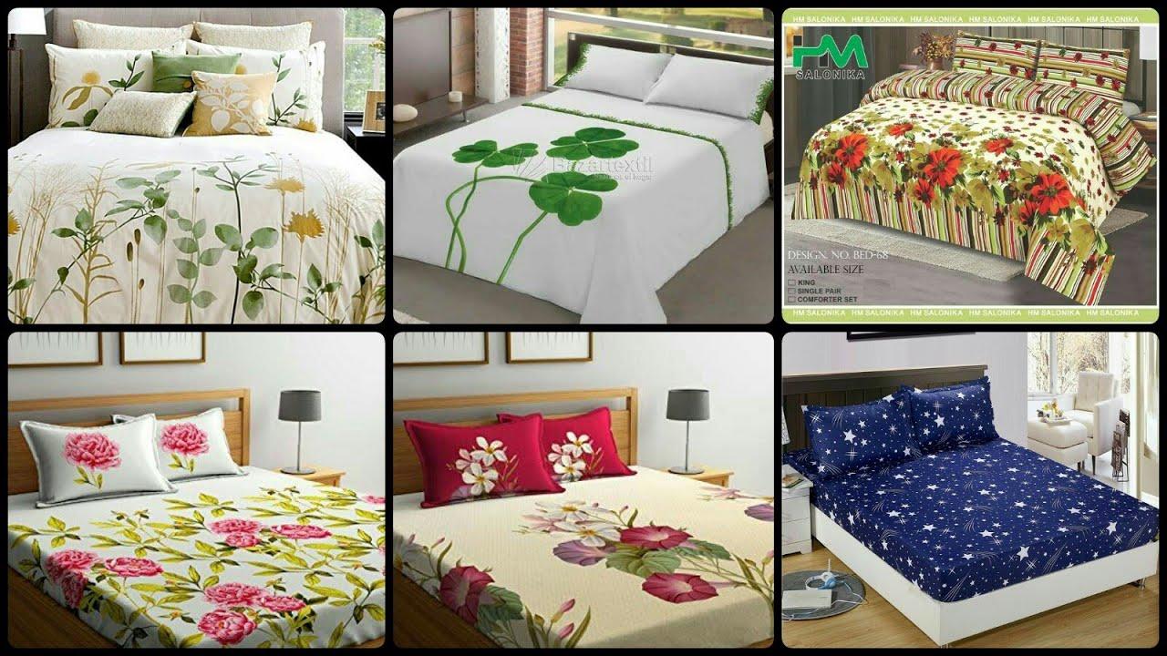 Beautiful & Trendy Designer Bed Sheet Design Ideas 2020/2021   YouTube