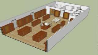 Clothing or Variety Store Design
