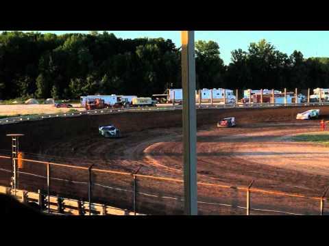 EWSC Racing Late Model Heat 2 8/17/2012