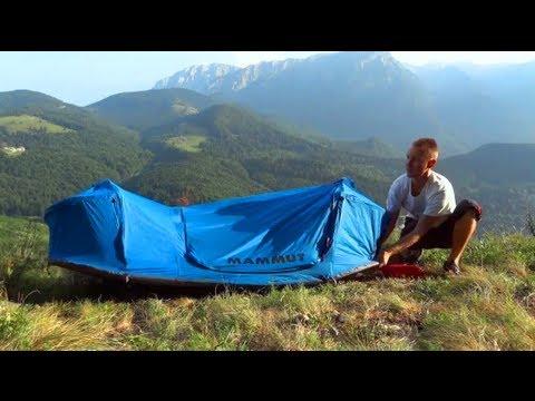 & Mammut Lodge Single Bivy Tent Prototype - First Impression - YouTube