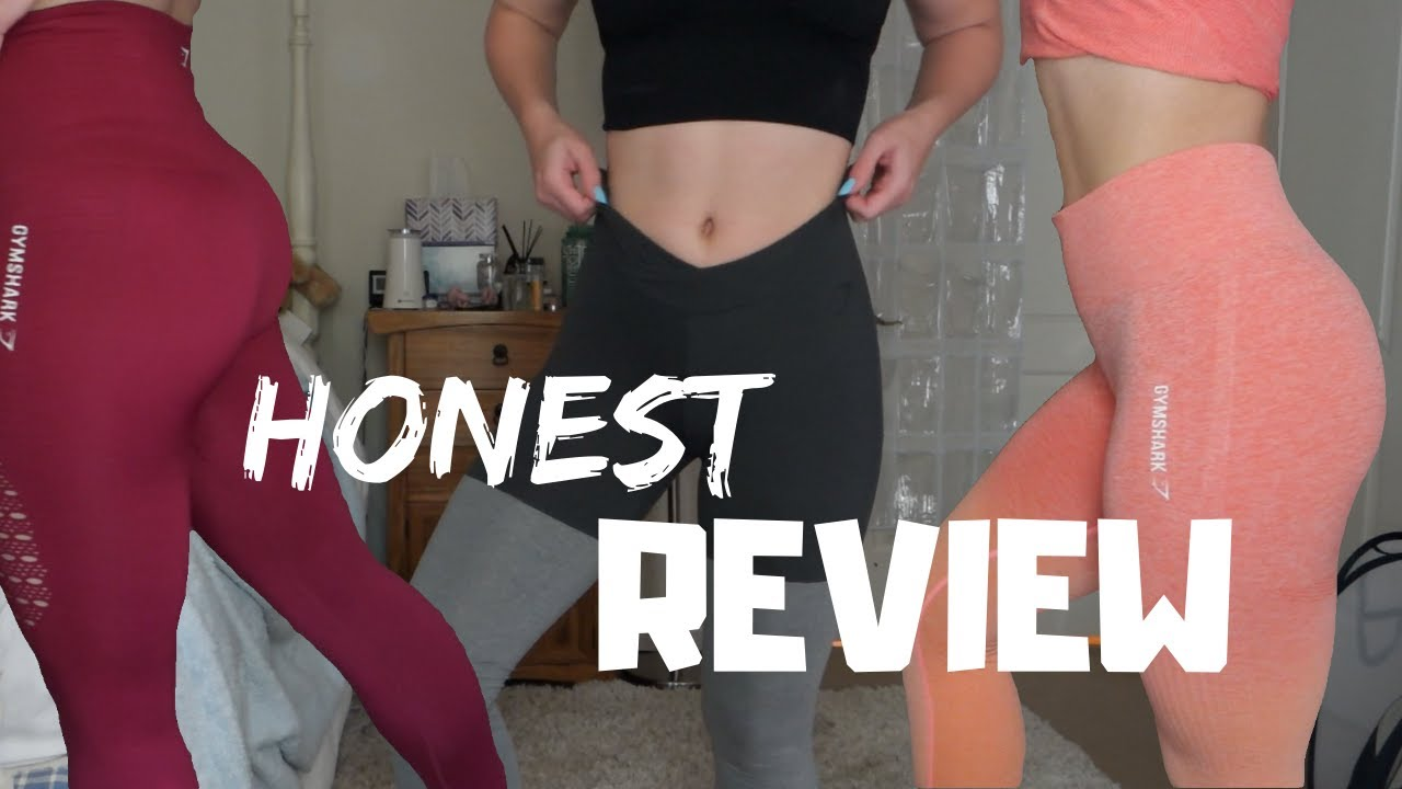 3a40f19eae471 Gymshark collection, HONEST review, try on haul | ombre seamless, flex, and  more!