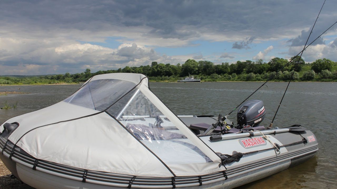 лодка касатка 335 с мотором ямаха 9.9