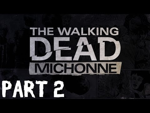 The Walking Dead: Michonne Episode 1 - In Too Deep - Part 2 Walkthrough - No Commentary