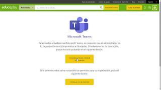 Cómo insertar actividades de Educaplay en Microsoft Teams