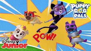 ⚡ Matching Game!   Puppy Dog Pals   Disney Junior UK
