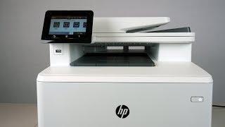 HP ColorJet Pro M479fdw Color Laser Multi-function Printer Review
