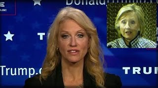 TRUMP ALL-STAR CONWAY JUST RIPPED HILLARY CLINTON A NEW ONE WITH EPIC RANT GOING VIRAL!