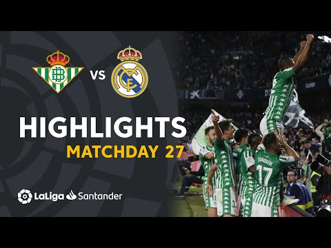Highlights Real Betis Vs Real Madrid (2-1)