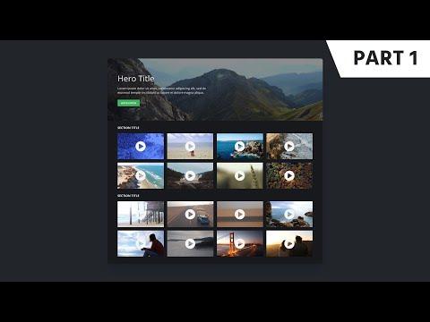 Figma Web Design Tutorial: Step-by-Step Video Channel Web Design