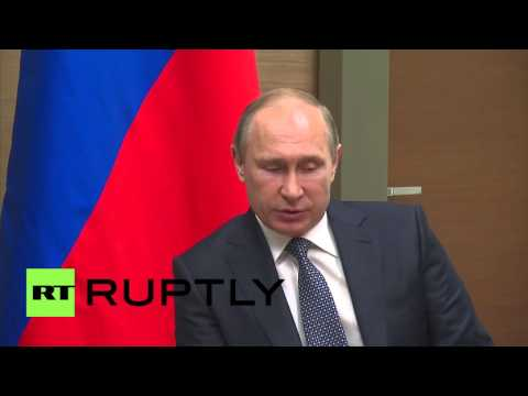 Russia: Putin and Finland's Niinisto offer condolences to Brussels attacks victims