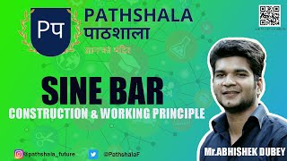 Sine Bar | construction and working principle