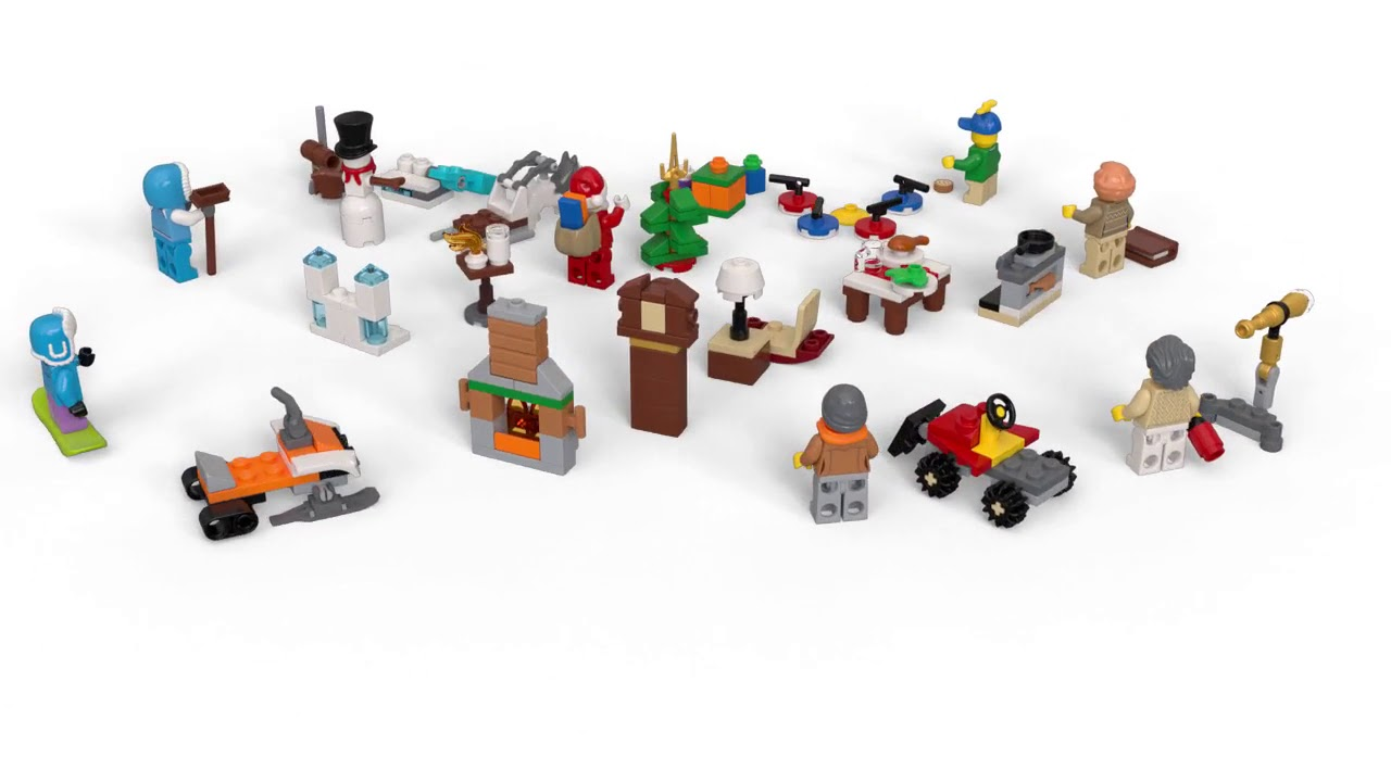 Calendario Avvento Lego City.Lego 60235 Calendario Dell Avvento Lego City