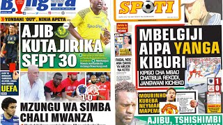 MICHEZO Magazetini Ijumaa 21/9/2018:Mbelgiji wa Simba Apata Kichapo Mwanza