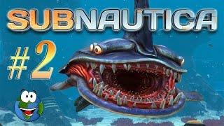 Прохождение игры Subnautica #2 - Песчаные акулы и поиск серебра
