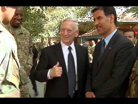 Defense Secretary Mattis in Afghanistan With NATO Head