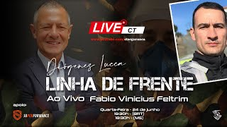 Linha de Frente com Diógenes Lucca entrevistando Fabio Vinicius Feltrim