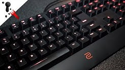 BenQ Zowie Celeritas II Optical Switch Keyboard Review (with sound test)