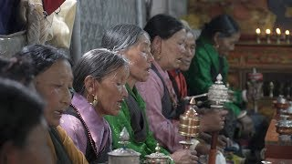 Sound of prayer wheels fills Gyirong streets as Tibetan Buddhists mark Saga Dawa