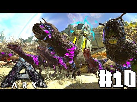 ARK: Extinction #10 - Unsere neue Base & die Corrupted Dino Wellen Armee überleben!   LP Ark Deutsch