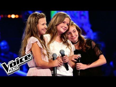 """Kopiec, Brzuszkiewicz i Jasińska – """"Tej historii bieg"""" – Bitwy – The Voice Kids Poland"""