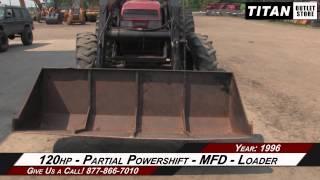 case ih 5240 9400 hrs westendorf loader tractor sold on els