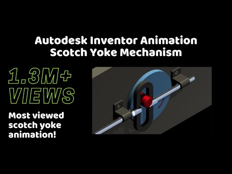 Scotch Yoke Mechanism *Most viewed Scotch Yoke animation ...