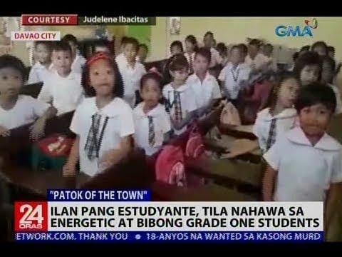 Ilan pang estudyante, tila nahawa sa energetic at bibong grade one students