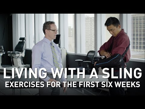 Shoulder Surgery Rehab: Exercises For The First Six Weeks | Martin Kelley, DPT Of Penn Rehab