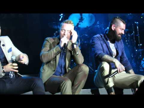 Boyzone - Dubai - Better - A tribute to Stephen Gately - 22- 5 - 2014