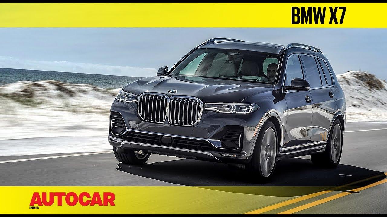2019 Bmw X7 Video Review Autocar India