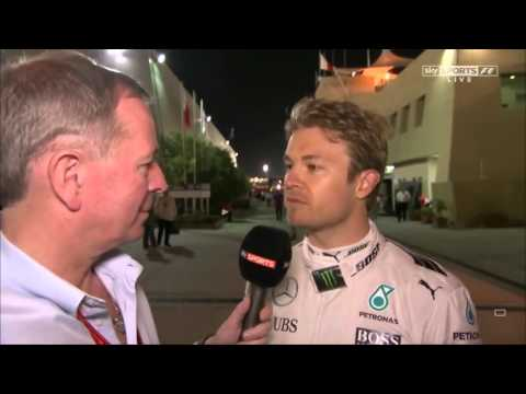 F1 2016 Bahrain GP Post Race: Nico Rosberg P1