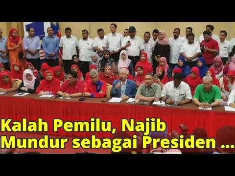 Kalah Pemilu, Najib Mundur sebagai Presiden UMNO dan Barisan Nasional