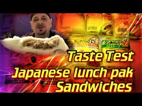 Trying JAPANESE Lunch Pak SANDWICHES TASTE TEST | 1480 FLAVORS to TRY! 山崎製パン 味覚検査