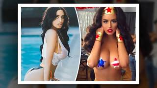 Abigail Ratchford poses as naked Wonder Woman – fans think she's hotter than the real deal