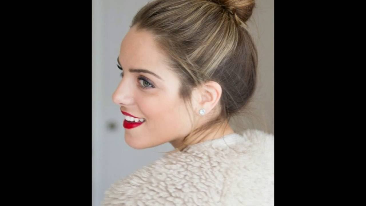 High Bun Hairstyles For Long Hair । High Bun Hairstyles - YouTube