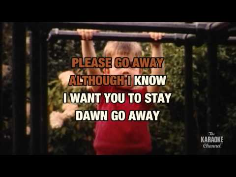 Dawn (Go Away) in the style of The 4 Seasons | Karaoke with Lyrics