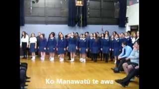 Whaia Te Iti Kahurangi - Freyberg School Waiata - with lyrics