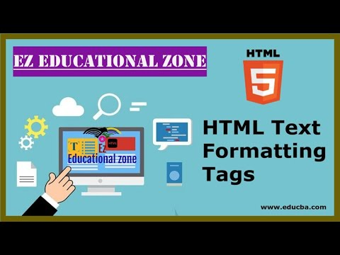 Text Formating In HTML   Html Text Formatting Cheat Sheet
