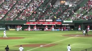 西武ドームにてトンビこと東尾修、ミスター赤ヘルこと山本浩二のOB対決...