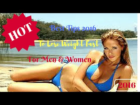 How To Lose Weight Fast – Best Tips For Men and Women