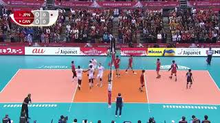 JAPAN VS CANADA VOLLEY BALL WORD CUF