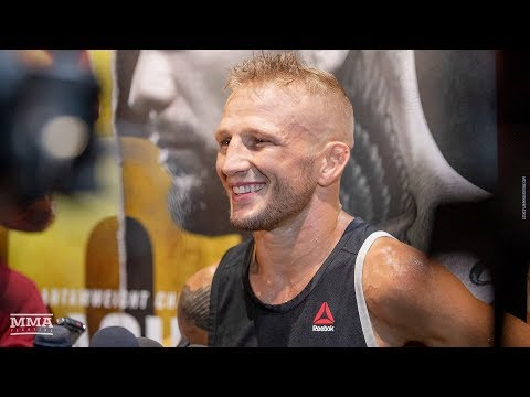 UFC 227: T.J. Dillashaw Says If UFC Wants Cody Garbrandt to Win, I'm 'Gonna Put a Squash To It'