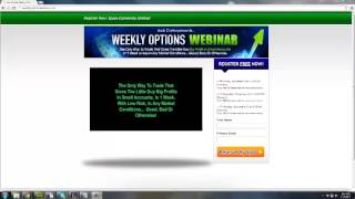 Weekly options trading strategies - The best strategy for trading weekly options review.