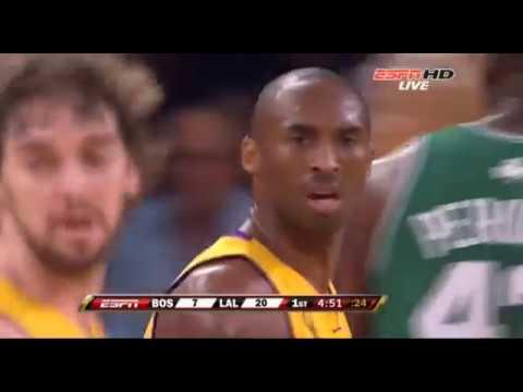 Boston Celtics Los Angeles Lakers 2008 Finals Game 4 Part 1