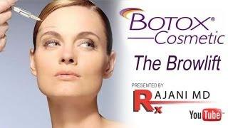 Watch Botox Brow Lift-Dr Rajani-Portland