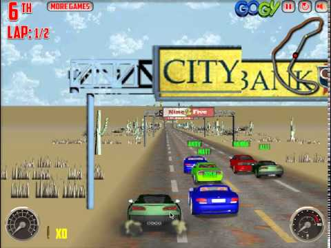 v8 muscle cars 2 juego de coches online - youtube