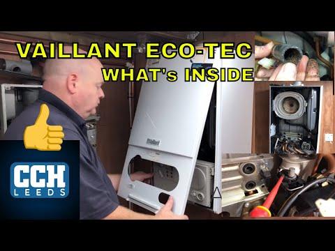 Vaillant EcoTec Plus Gas Boiler Strip Down