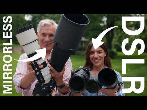 Finding the #1 wildlife camera: DSLR vs Mirrorless!